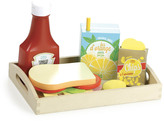 Vilac Wooden Food and Tray - Set of 18 pieces