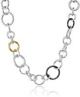 "Gurhan Hoopla Mixed-Link Chain Necklace, 17"""