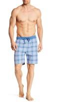 HUGO BOSS Plaid Drawstring Shorts