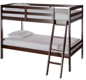 Dream On Me Taylor Twin over Twin Bunk Bed, Espresso
