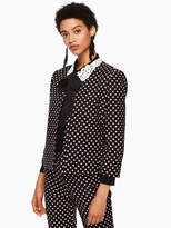 Kate Spade Diamond jacquard jacket