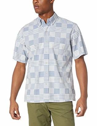 Reyn Spooner Men's Patchwork Classic Fit Shirt