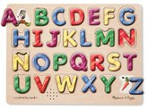 Melissa & Doug Toddler Spanish Alphabet Wooden Sound Puzzle
