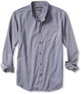 Banana Republic Camden-Fit Luxe Flannel Solid Shirt