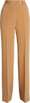Kiton Silk Wide-Leg Trousers