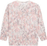 Equipment Melanie Printed Cashmere Top - Pink