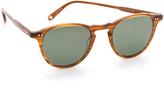 Garrett Leight Hampton Polar Sunglasses