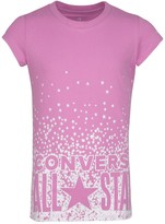 Converse Glitter All Star Graphic T-Shirt (Big Girls)