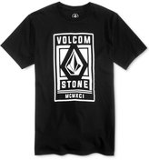 Volcom Men's Wicket Graphic-Print Logo Cotton T-Shirt