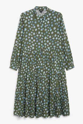 Monki Midi shirt dress