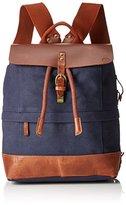 Timberland Backpack, Unisex Adults' Blau (Black Iris), 17x40x30 cm (B x H T)