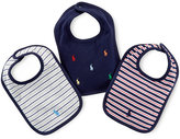 Ralph Lauren Boys' 3-Pack Bibs