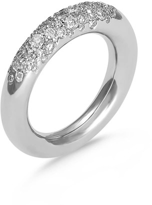 Hargreaves Stockholm Fredag - 18ct Gold and Diamond Pave Eternity Ring