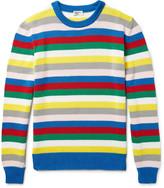 Saint Laurent - Striped Cotton Sweater