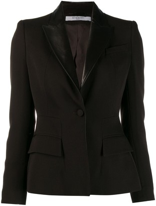 Givenchy Pre-Owned '1990s One Button Blazer