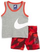 Nike Infant Boy's Tank Top & Shorts Set
