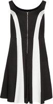 ABS by Allen Schwartz Plus Size Colour block jersey dress
