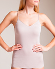 cotton seamless vneck camisole