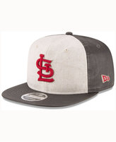 New Era St. Louis Cardinals Vintage Waxed 9FIFTY Snapback Cap
