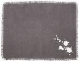 Jonathan Adler White/Grey Drip Placemat