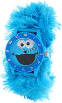 Sesame Street Kids' SW4930CM Cookie Monster Link Slap Watch