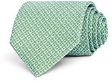 Salvatore Ferragamo Mini Linked Gancini Silk Classic Tie