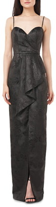 Theia Love by Jacquard Column Gown