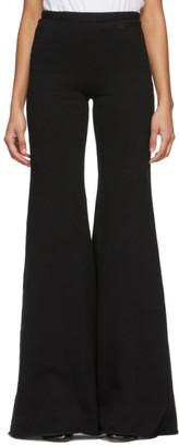 Vetements Black Evening Lounge Pants