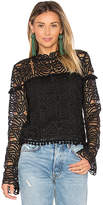 Tularosa Holly Lace Top in Black. - size XS (also in )
