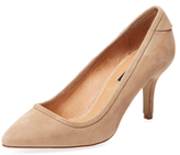 Ava & Aiden Phase Pointed-Toe Mid Heel Pump