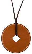 Hermes Tsuba Pendant Necklace