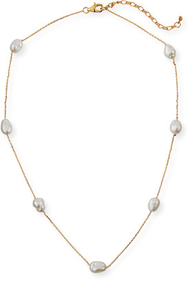 Tai Pearl-Station Necklace