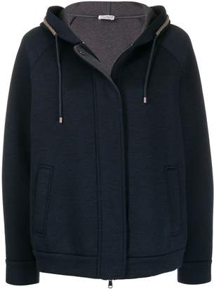 Brunello Cucinelli hooded jacket