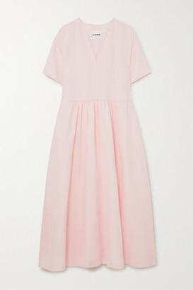 Jil Sander Voile Maxi Dress - Off-white