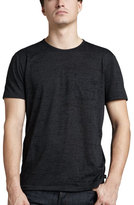 John Varvatos Burnout Pocket Tee