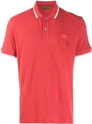 Corneliani short sleeved polo shirt