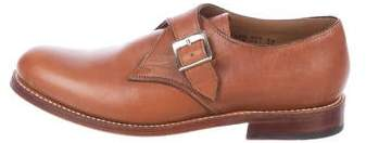Grenson Leather Monk Strap Shoes