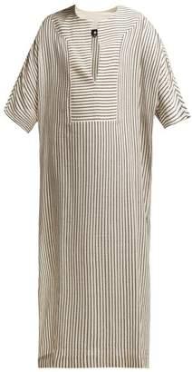 Su Paris - Tia Striped Kaftan - Womens - Grey Stripe