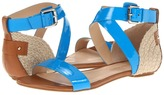 Enzo Angiolini Katira 3 (Blue Synthetic) - Footwear