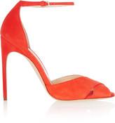 Brian Atwood Marissa suede sandals