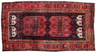 "One Kings Lane Vintage Antique Persian Bidjar Rug - 5'2"" x 10'1"" - Apadana - red/blue"