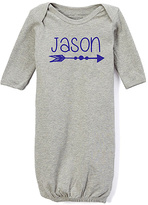 Gray Arrow Personalized Gown