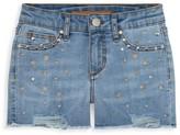 Joe's Jeans Girl's Cali Star-Embellished Denim Shorts