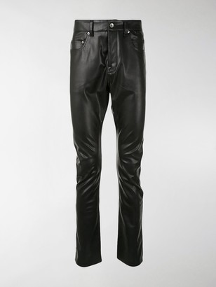 Rick Owens Performa Detroit coated jeans