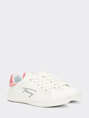 Tommy Hilfiger Signature Logo Low-Top Trainers