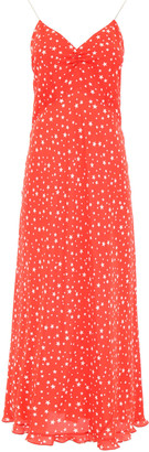 Miu Miu Long Dress With Stars