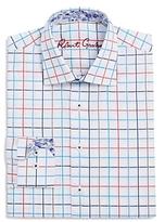 Robert Graham Boys' Windowpane Check Dress Shirt - Big Kid