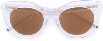 Thom Browne Eyewear Cat Eye Sunglasses