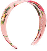 Dolce & Gabbana tulip print hair band - kids - Silk/Cotton/Viscose - One Size