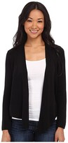 Nic+Zoe Long-Sleeve 4-Way Cardy (Black Onyx) Women's Sweater